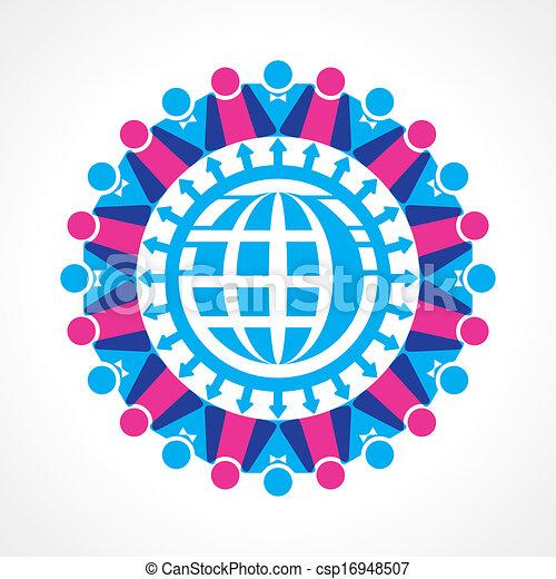 communicatie, concept, netwerk - csp16948507