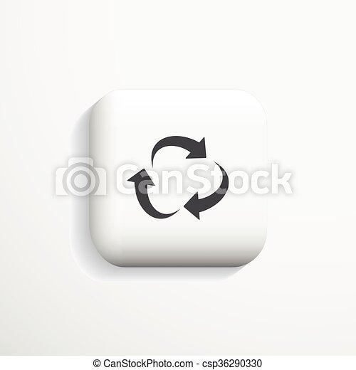 Communication 3d icon. Vector. - csp36290330