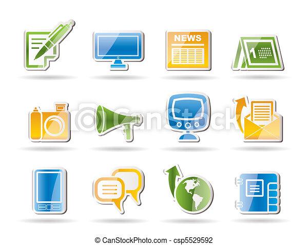 Communication channels  - csp5529592