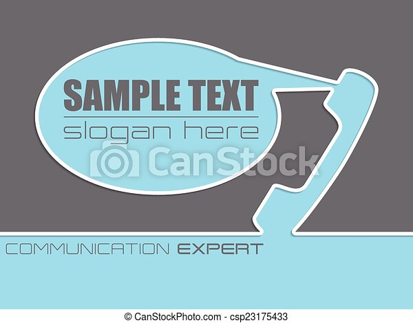 Communication Company Advertisement Background Design