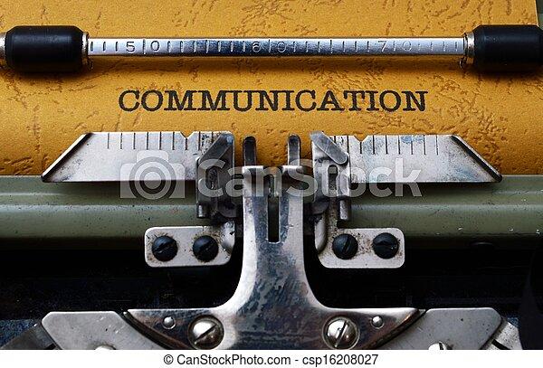 Communication concept - csp16208027