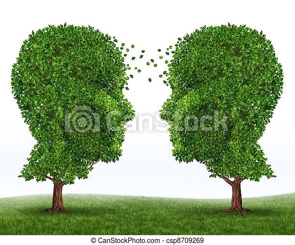 communication, croissance - csp8709269