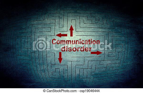 Communication disorder - csp19046444