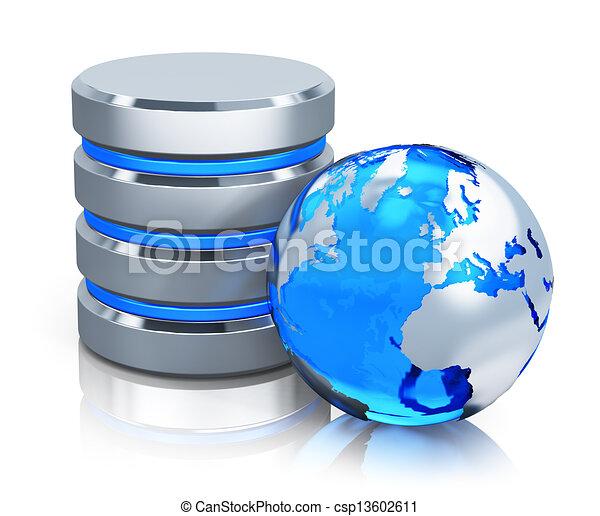 communication globale, concept - csp13602611