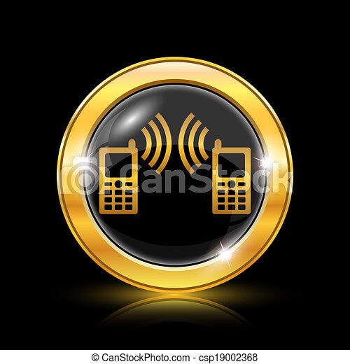 Communication icon - csp19002368