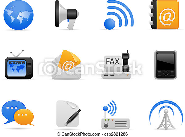 Communication Icon Set - csp2821286