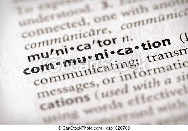 communication - csp1320709