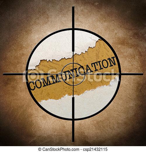 Communication target - csp21432115