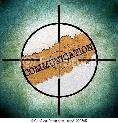 Communication target - csp21009805