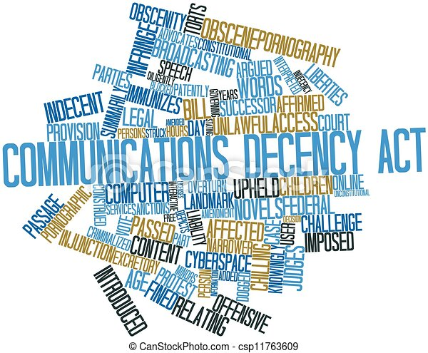 communications decency act essay View essay - cda essay from business 280 at harvard running head: communication decency act essay communication decency act essay name: institution affiliation: 1.
