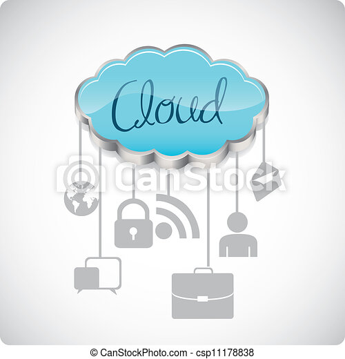 communications technology  - csp11178838