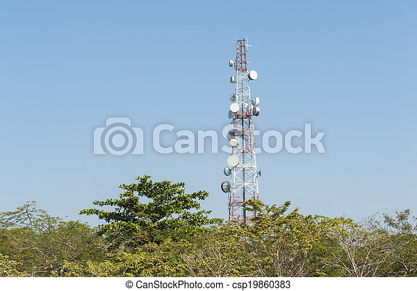 Communications Tower - csp19860383