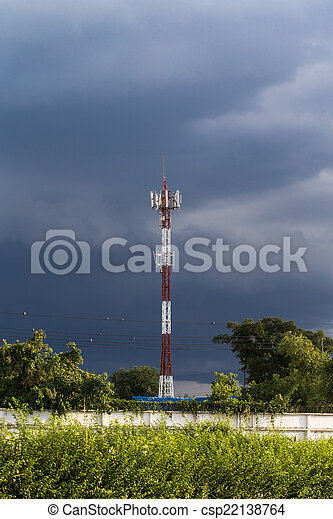 Communications Tower - csp22138764