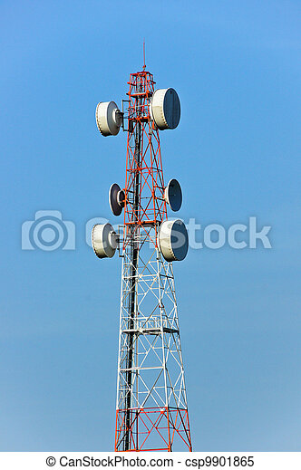 Communications Tower - csp9901865
