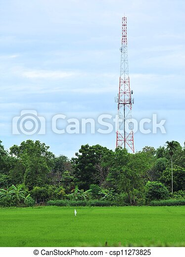 Communications tower - csp11273825