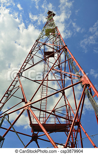communications tower - csp3879904
