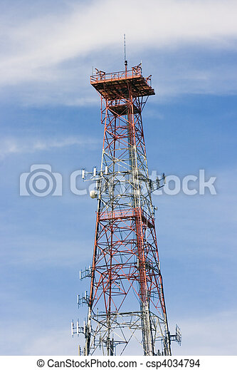 Communications Tower - csp4034794