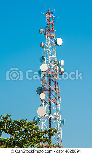 Communications Tower - csp14828891
