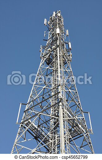 Communications Tower - csp45652799