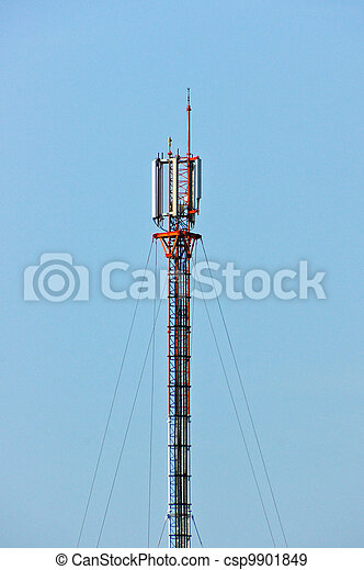 Communications Tower - csp9901849