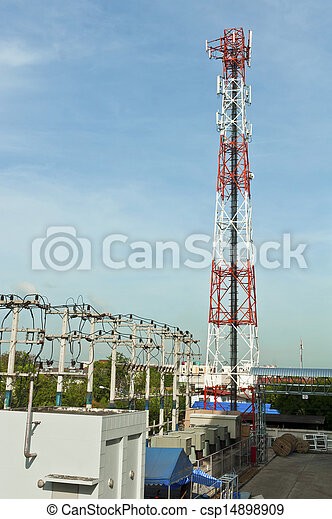 Communications Tower - csp14898909