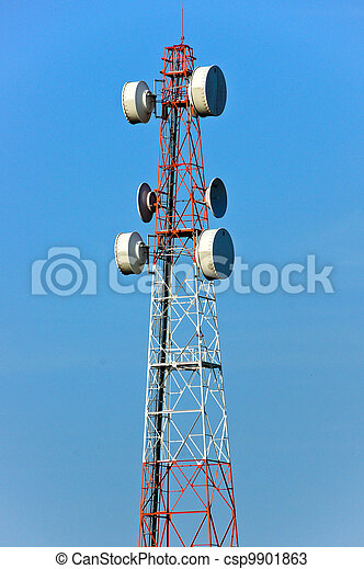 Communications Tower - csp9901863