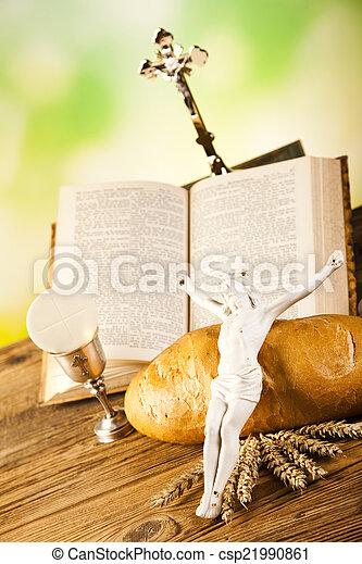 Communion wafer - csp21990861