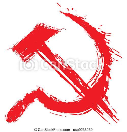 Communism symbol - csp9238289