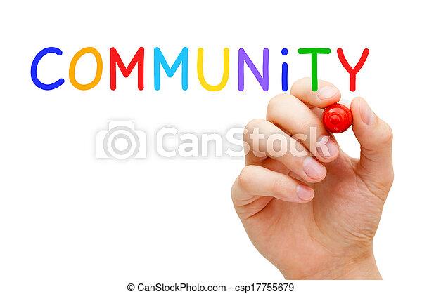 Community Concept - csp17755679