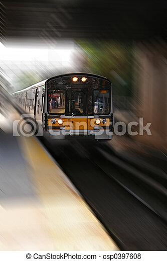 Commuter Train - csp0397608
