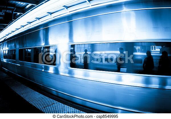 Commuter Train - csp8549995