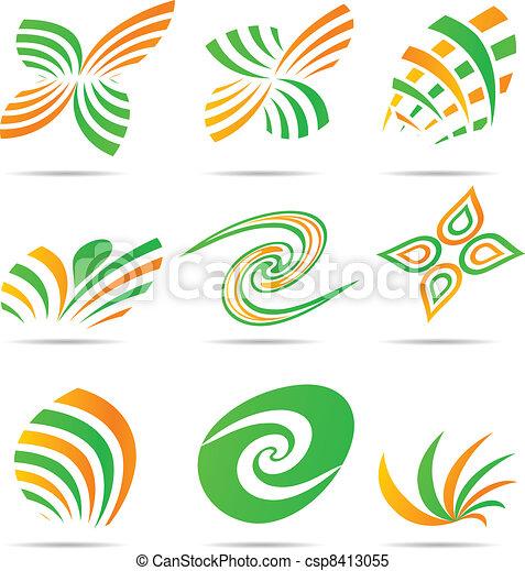 Logos de la compañía. - csp8413055