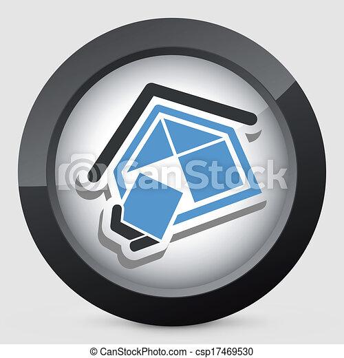 El símbolo de la compañía de construcción - csp17469530