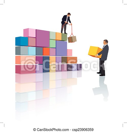 compañía, creación - csp23906359