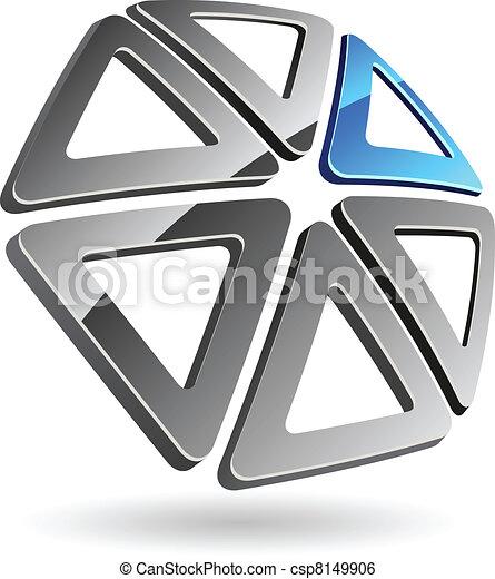 Simbolo de la compañía. - csp8149906