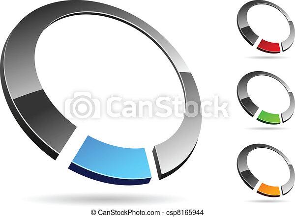 Simbolo de la compañía. - csp8165944