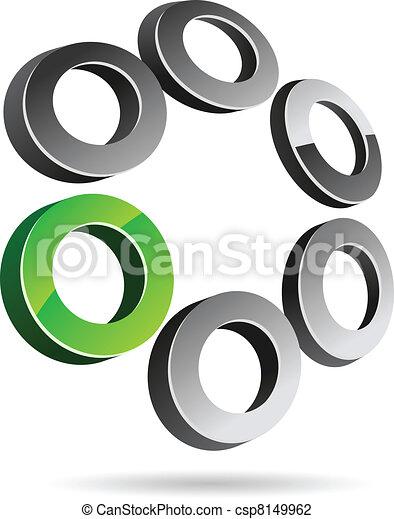 Simbolo de la compañía. - csp8149962