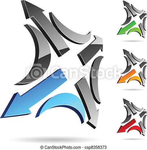 compañía, símbolo. - csp8358373