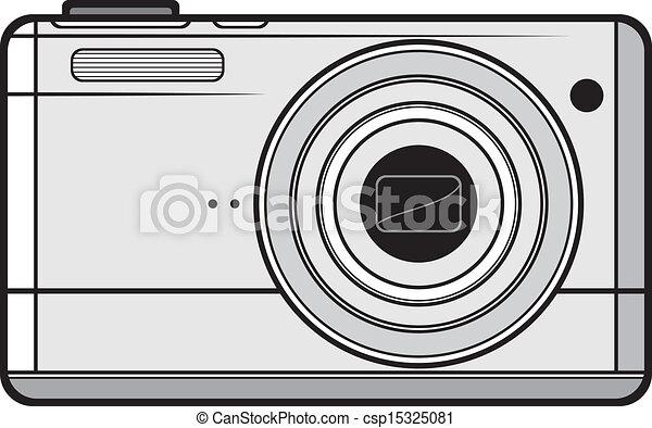 Compact digital camera - csp15325081