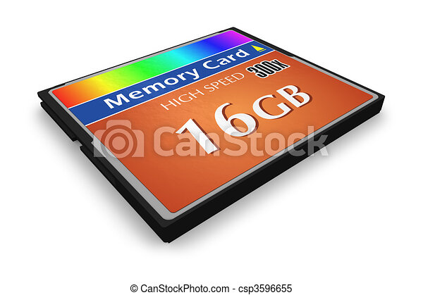 CompactFlash memory card  - csp3596655