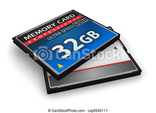CompactFlash memory cards - csp5545111