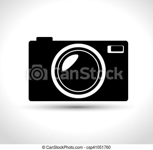 Compacto Grafico Camera Foto Desenho Pretas Compacto Grafico