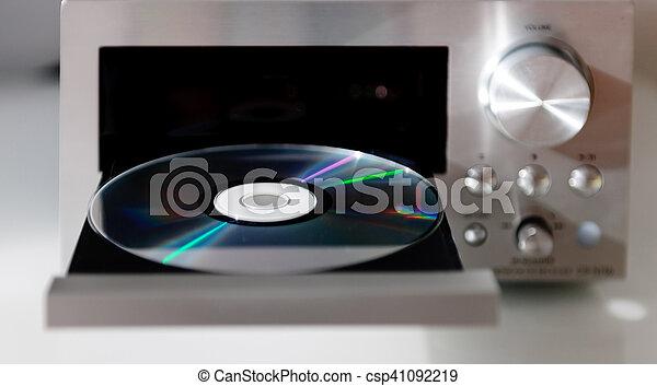 Un reproductor de audio digital de disco compacto - csp41092219