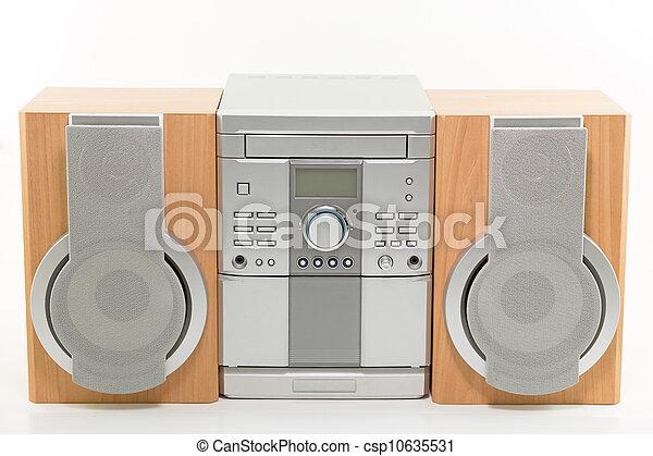 Mini sistema de radio compacto con reproductor de CD - csp10635531