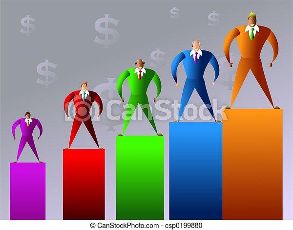 compagnie, ventes - csp0199880