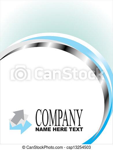 companhia, cartão negócio - csp13254503