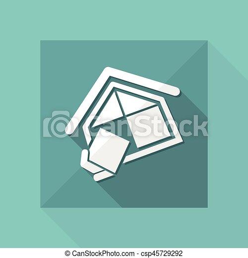 companhia, construção, símbolo - csp45729292