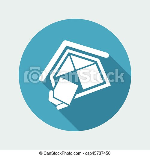 companhia, construção, símbolo - csp45737450