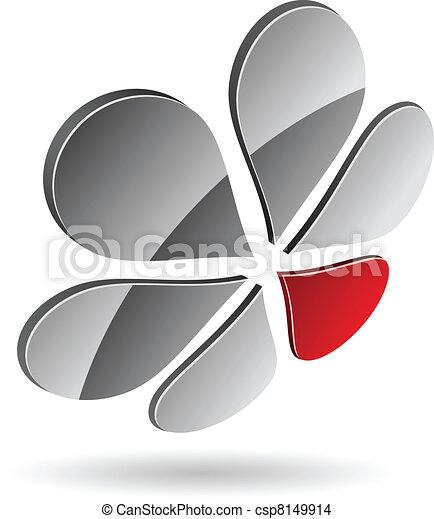 companhia, símbolo. - csp8149914
