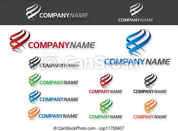 Company (Business) Logo Design - csp11755607
